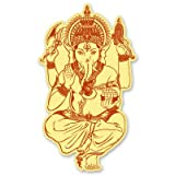 Ganesha Ganesh Hinduism God Elephant Vinyl Sticker - Car Phone Helmet - SELECT SIZE