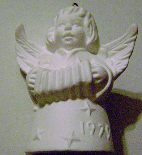 - 1979 Annual Goebel Angel Bell Ornament White 4th Edition