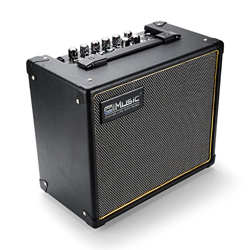 Coolmusic Bluetooth Fantasy20 20W Smart Digital Guitar Amplifier DSP ( Reverb, Delay, Phaser, Flanger, Chorus, Tremolo ) Speaker by Coolmusic
