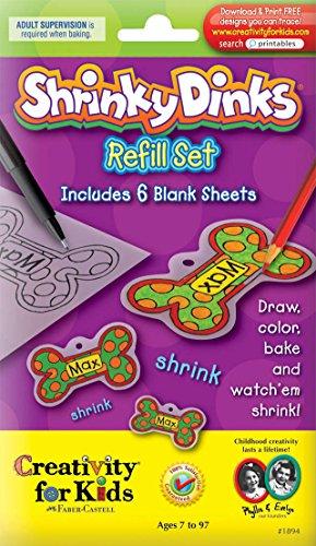 (Faber-Castell Creativity For Kids Activity Kit: Shrinky Dinks Refill Sheets)