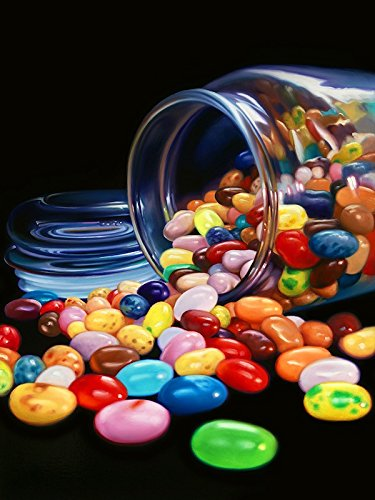 jelly-beans-limited-edition-reproduction-on-gallery-quality-canvas-of-the-original-oil-painting-sign