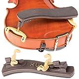 Kun Collapsible Mini Brown Shoulder Rest for 1/16 - 1/4 Violin