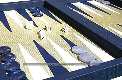 Case Blue Board Game : Amazon.com: dal negro elite blue backgammon case: toys & games