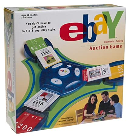 Amazon Com Ebay Electronic Talking Auction Game Toys Games