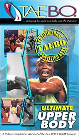 Amazon com: The Best of Tae-Bo - Ultimate Upper Body [VHS]: Billy