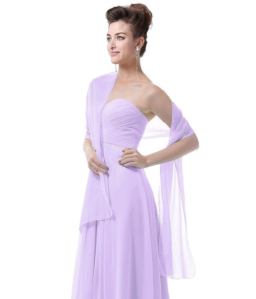 Chal de gasa para vestido de fiesta de EnjoyBridal®, para vestido de ...