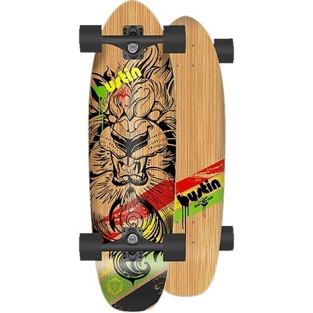 Bustin Modela 26 Legend Mini Cruiser Longboard Skateboard Complete New 2016 ()