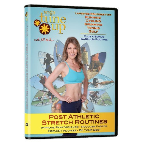 Jill Miller Yoga Tune Up Post Athletic Stretch Routines DVD