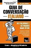 capa de Guia de Conversação Portuguès-Italiano E Mini Dicionário 250 Palavras