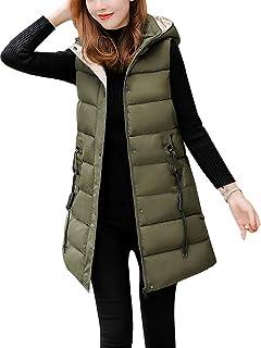 1b47ac728 Amazon.com: Coatology Women's Classic Long Down Vest: Clothing
