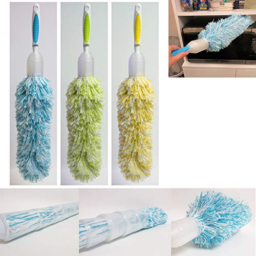 - Soft Microfiber Duster Cleaner Wiper Sweeper Cleaning Dust Home Office Car Tool