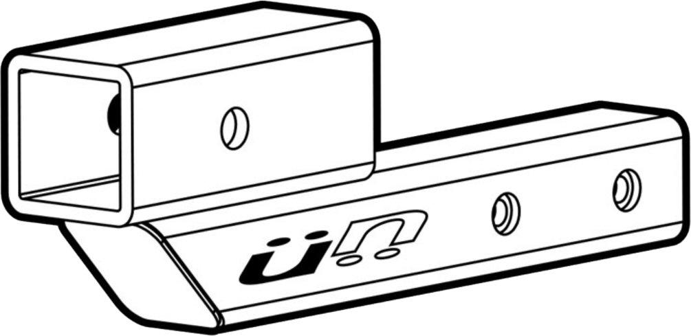 Kuat Racks Hi-Lo 2'' Hitch Extension Mount, 7'' or 10'' Extension, 2 1/8'' Rise/Drop