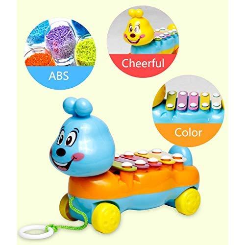 Bulges Kids Multi-functional Cute Animal Shape Knocks on Piano Music Educational Toy Pianos & Keyboards