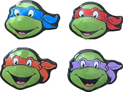0.9 Ounce Boxes (Teenage Mutant Ninja Turtles Tin Case Watermelon Shell Sours Set Of 4 0.9 Oz)