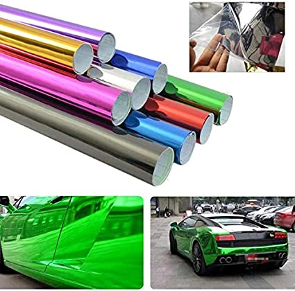 6x60 Car Chameleon Wrap Auto Carbon Fiber Wrapping Film Vehicle Change Color Sticker Tint Vinyl with Air Release WLGREATSP Car Body Films