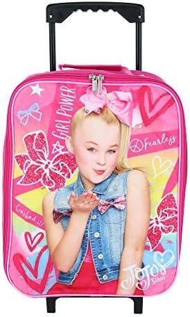 Nickelodeon JoJo Siwa Girl's 15 Collapsible Wheeled Pilot Case - Rolling Luggage