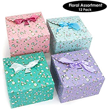 Amazon.com: Cajas de regalo, cajas decorativas para dulces ...