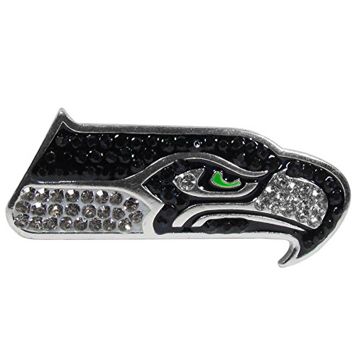 NFL Seattle Seahawks Womens Crystal Pin
