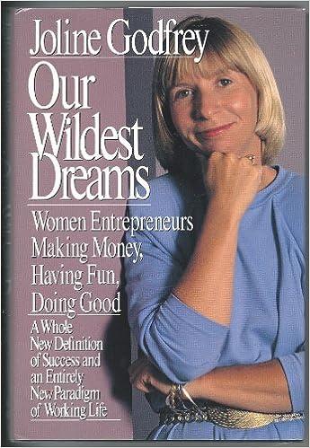 our wildest dreams women entrepeneurs making money having fun doing good