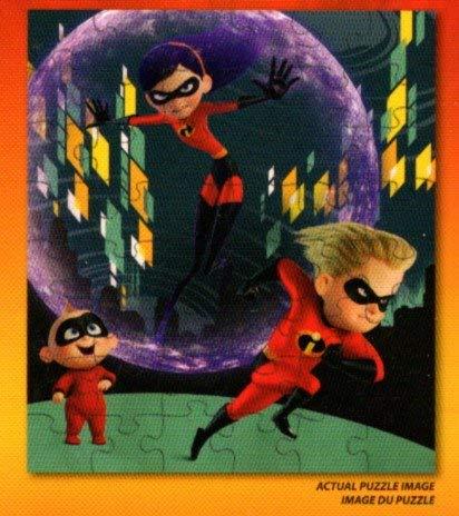 Disney Pixar Incredibles 2-48 Pieces Jigsaw Puzzle Set of 2 v3 Cardinal Industries