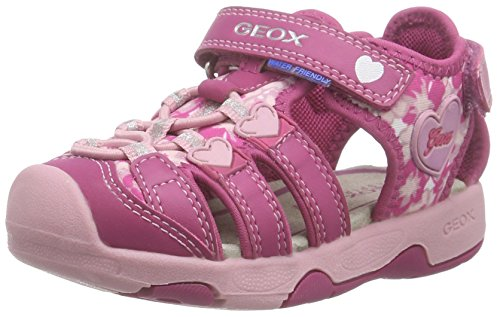 Geox Kids Baby Girl's Baby Sandal Multy Girl 1 (Toddler) Fuchsia/Pink Shoe