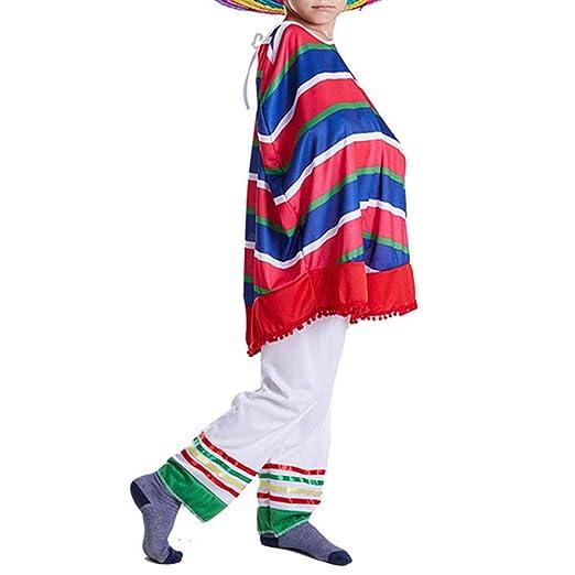 1 juego de disfraces mexicanos de ropa mexicana estilo hawaiano ...