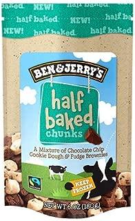 product image for Ben & Jerry's - Snackable Dough Chunks, Non-GMO - Fairtrade, Half Baked, 6 Oz. Bag (8 Count)