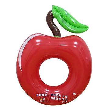 Amazon.com: WYL - Anillo de natación hinchable de manzana ...