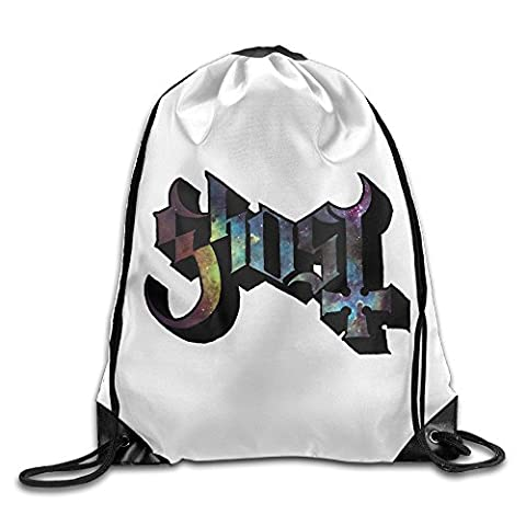 Creative Design Ghost B.C Rock Band Logo Drawstring Backpack Sport Bag For Men And Women (The Winx C)