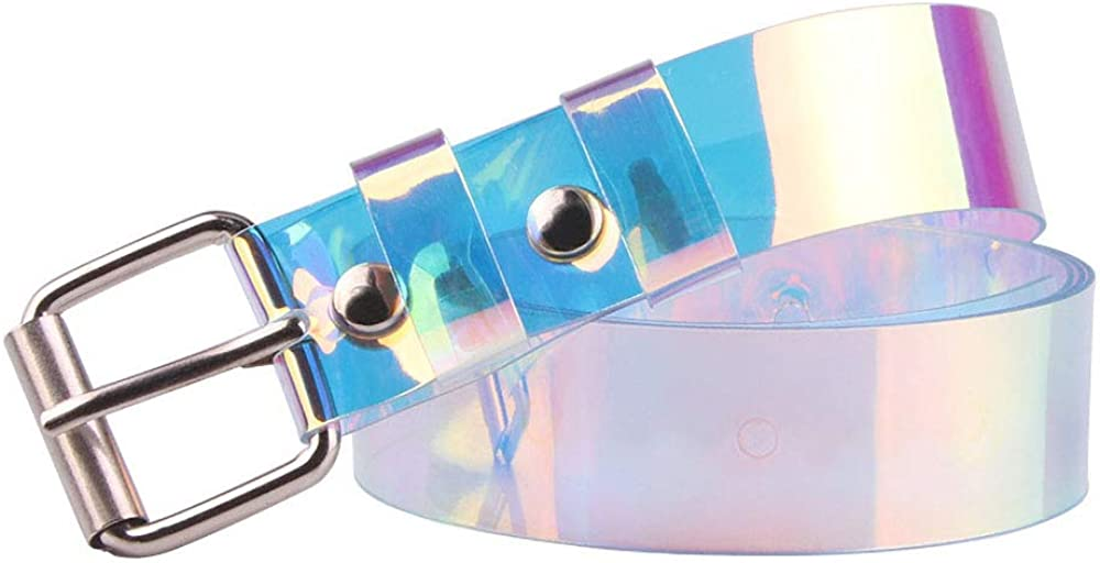 Colorful PVS/Plastic Ultra-thin Transparent Wait Belt for Girls