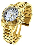 Invicta Men's 6257 Excursion Collection Chronograph 18k Gold-Plated Stainless Steel Watch