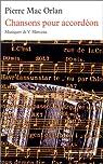 Chansons pour accordéon par Mac Orlan