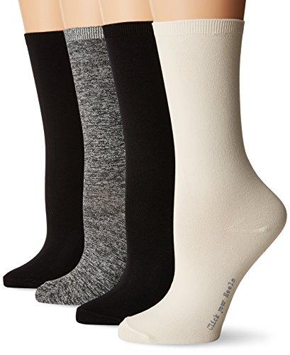 HUE Womens Body Socks Pk