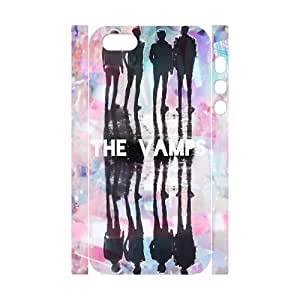 T-TGL(RQ) Iphone 5/5S 3D Hard Back Cover Case The Vamps with Hard Shell Protection