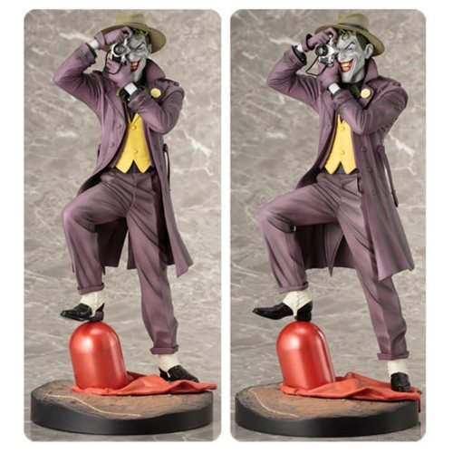 [ARTFX DC UNIVERSE Joker - THE KILLING JOKE - Second Edition 1/6 scale PVC painted finished figure] (Red Hood Joker Costume)