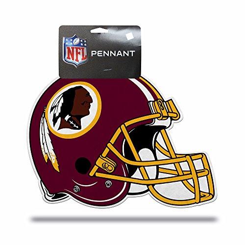 Rico Industries NFL Washington Redskins Football Helmet Die Cut Pennant Décor -