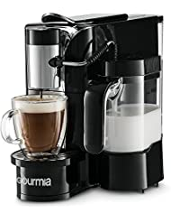 Gourmia GCM5500 - 1 Touch Automatic Espresso Cappuccino  amp; Latte Maker Coffee Machine - Brew, Fro