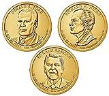 2016 P, D Presidential Dollar 6-Coin P & D Uncirculated
