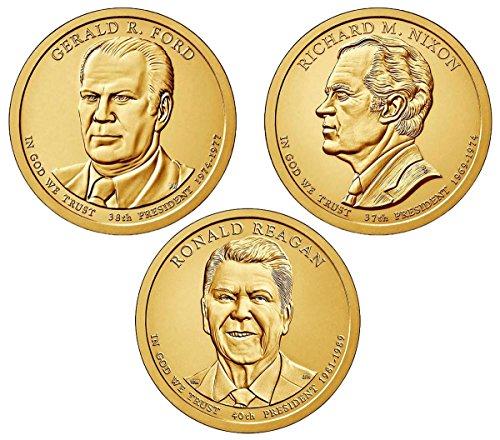 2016 P, D Presidential Dollar 6-Coin Set Uncirculated