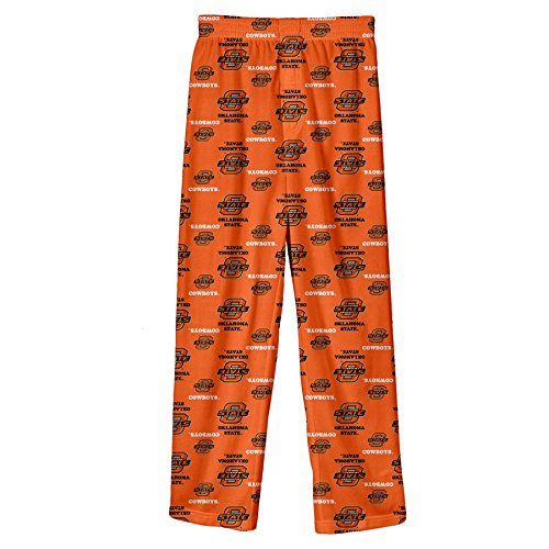 NCAA by Outerstuff NCAA Oklahoma State Cowboys Youth Boys Team Color Printed Pant, Orange, Youth (Oklahoma State Pant)