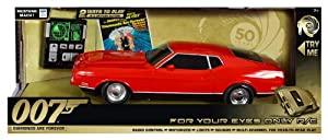 Toystate James Bond Light And Sound For Your Eyes Only Rc 1971 Ford Mustang Mach 1 Diamonds Are Forever from Toystate