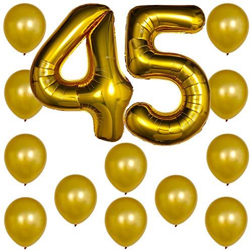45 number cake topper - 8