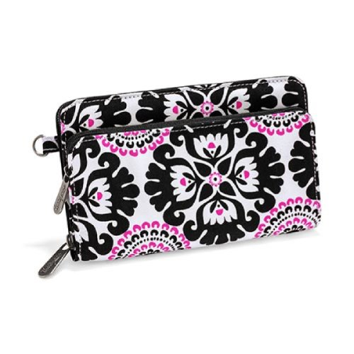 Thirty One Free To Be Soft Wallet in Pink Pop Medallion, Bags Central