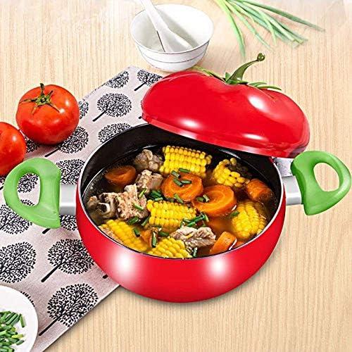 Plhzh Casserole Antiadhésive Créative De Pot De Soupe De Tomate De Mode, Casseroles De Cuisine D'ustensiles De Cuisine D'ustensiles De Cuisine