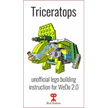 Triceratops: Lego Education WeDo 2.0 (45300) building guide instruction: Dino Triceratops (Lego instructions)