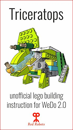 Triceratops Lego Education Wedo 20 45300 Building Guide