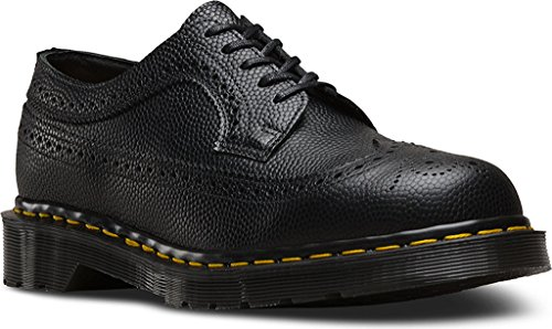 Dr. Martens Unisex 3983 Brogue Kiezel 5-eye Veterschoen Black Pebble
