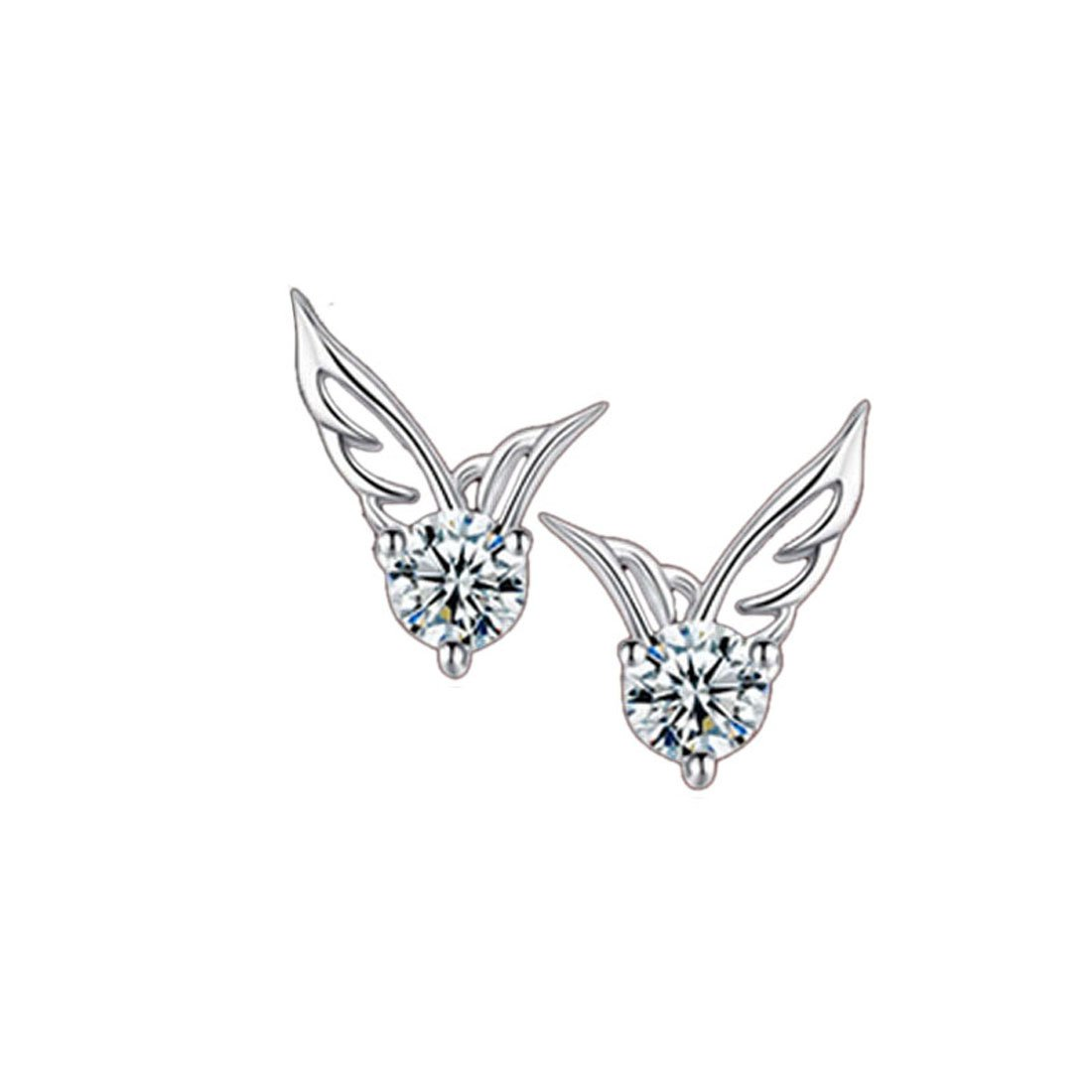 Coromose Women Fashion Elegant Angel Wings Wings Earrings Ear Jewelry