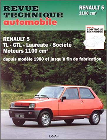 Rta 397.4 Renault 5 Tl et Gtl (Mot.1100 - 1980/1985) (French Edition): 9782726839737: Amazon.com: Books