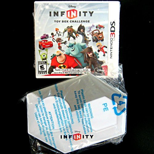 Disney Infinity 3DS Base Set Game and Portal Only - No Figures Included (Disney Infinity For Nintendo Ds)